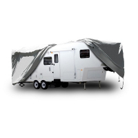 5th Wheel Trailer Cover fits Trailers  20' to 23'
