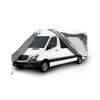 "Waterproof VanCover Fits up to 18' w/24"" BubbleTop"
