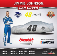 Jimmie Johnson Car Cover Size 1